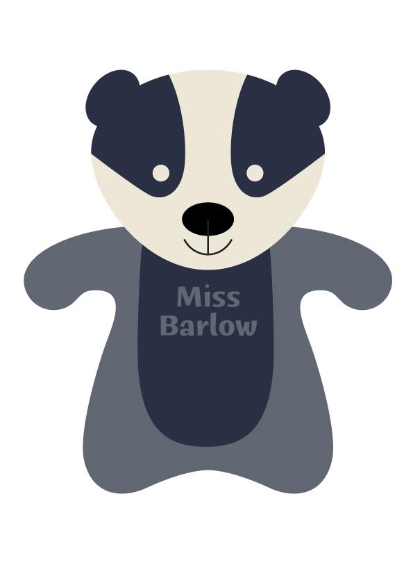 Miss Barlow the Badger